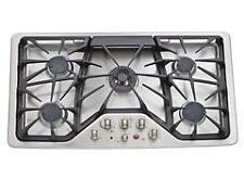 """New listing Ge Café 36"""" Built-In Gas Cooktop (Stainless-Steel) Cgp650Setsv"""