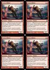4x ARENA ATHLETE Theros MTG Red Creature — Human Unc