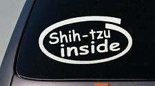 "Shih Tzu Innen 6 "" Aufkleber Fenster"