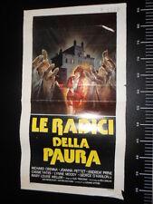 ★ Manifesto Radici Della Paura Vintage Locandina Poster Playbill ★
