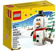 LEGO® 40093 Schneemann NEU OVP_ Snowman NEW MISB NRFB