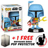 FUNKO POP VINYL STAR WARS BOBA FETT ANIMATED #305 EXCLUSIVE + FREE POP PROTECTOR