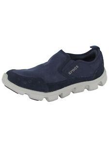 Crocs Mens Duet Sport Stretch Canvas Slip On Shoes