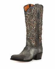 NIB Frye Womens Studded Deborah Boots
