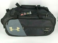 Under Armour Undeniable Duffle 4.0, Black/Metallic Gold,, Black, Size Small NEW