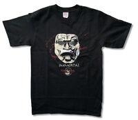 300 Movie Immortal Foil Mask Double Swords Black T Shirt New Official