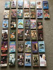 Lot Of Feature Films For Families VHS 32 Set FFFF Videos Reggie White Wonderwork