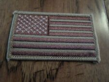 U.S AMERICAN FLAG ARM PATCH DESERT CAMO SAND BROWN ARMY MARINES AIR FORCE NAVY