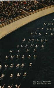 Fab Billy Rose's Aquacade - New York World's Fair 1939-1940 Linen Postcard