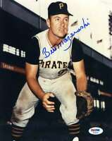 Bill Mazeroski Psa Dna Coa Autographed 8x10 Photo  Hand Signed Authentic