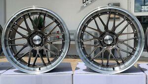 4 neue Alu Dotz Revvo 9,5x19 5-112 ET45 VW Audi Mercedes Seat Skoda