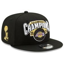 Men's Los Angeles Lakers New Era Black 2020 NBA Finals Champions Locker