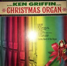 Charles Rand-In The Ken Griffin Style Christmas Organ(XM 10)RARE VINTAGE-SHIP 24