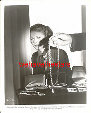 Vintage Mona Freeman BEAUTY '50 I WAS A SHOPLIFTER Publicity Portrait