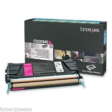 New ! GENUINE Lexmark  C522 C524 C530 C532 C534 Printer Magenta Toner C5220MS