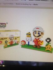 Fire Super Mario Sets with Extra ,ZMC Building Blocks