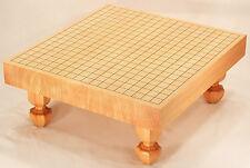 "MakeOffer Japanese Game of ""Go"" Goban Kaya Board with Legs Igo High Quality"