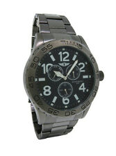 I by Invicta IBI41704-004 Men's Round Analog Gun Metal Black Day Date Watch