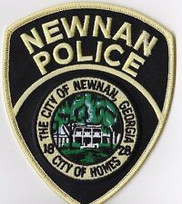 Newnan Police patch Georgia GA  NEW !!