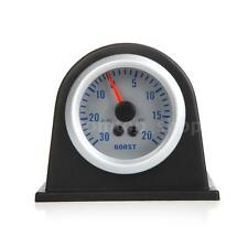 "Car Turbo Boost/Vacuum Gauge Meter 2"" 52mm 0~20PSI /0~30in.Hg 12V US STOCK V5Q4"