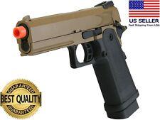 SRC Hi-Capa 4.3 Desert Airsoft Pistol - Metal - Dual Tone - CO2/Gas/Mag Options