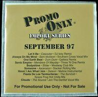 """PROMO ONLY """"IMPORT SERIES SEPTEMBER 1997"""" DJ PROMO CD COMPILATION DUM DUM *NEW*"""