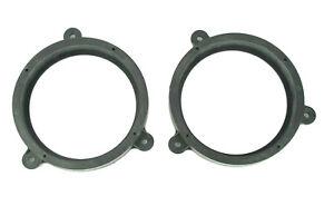 2x Rear Speaker Mount Plates Adapter Bracket Ring for Subaru Impreza Legacy Baja