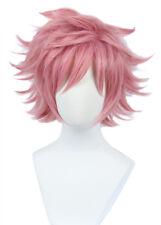 Ashido Mina Wig My Blonde Hero Academia Short Pink Cosplay Costume Wig
