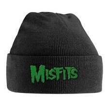 Misfits 'Green Logo' Beanie Hat - NEW