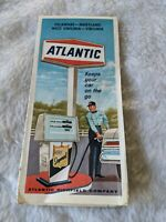 Gas & Oil Vintage 1967 Atlantic Richfield Gasoline Advertising VA, DE, MD