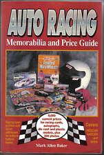 Auto racing memorabilia & price guide racing cartes die casts autographes usa