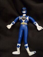 Power Rangers 1994 Mighty Morphin  Bendable Figure Saban Henry Gordy Toy Blue