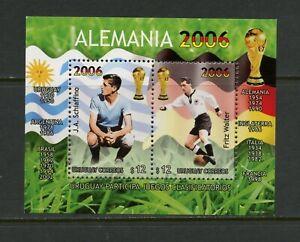 E442 Uruguay 2003 Football Feuille MNH