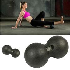 Double Peanut Massage Lacrosse Balls Ergonomic Extra Firm Roller For Spine LC