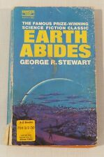 Earth Abides by George R Stewart, Fawcett Crest paperback, 1971