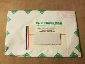 1991 ARCHIE COMICS 50th ANNIVERSARY FAN CLUB PACKET SEALED IN ORIGINAL ENVELOPE