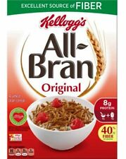 Kellogg All-Bran Original Cereal (Imperfect Boxes) 18.3 oz (Quantity 6 boxes)