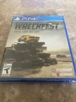 Wreckfest Standard Edition (Sony PlayStation 4 PS4) Brand New Factory Sealed