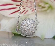 Reinheit SI Echte Diamanten-Halsketten & -Anhänger mit Brilliantschliff