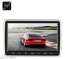 "10"" Car Headrest DVD Player LCD Monitor: USB,SD Card, HDMI, AV In, Universal Fit"