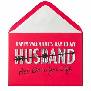 PAPYRUS Valentine's Day Card Hot Date for Life Valentine Card (For Husband) SEXY