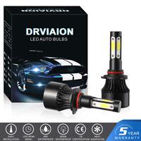 Paire 9006 HB4 LED Phare de voiture Feux Kit 200W 30000LM 6000K Ampoule Lampe FR