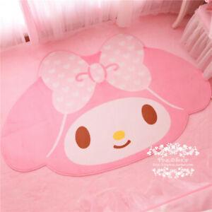 """My Melody Kawaii Non-Slip Door Mat Floor Mat Carpet Rug 39""""X63"""" Girls Gift"""