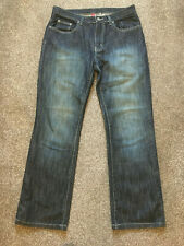 Mens Jeans 34/32 From Denim Co Straight Dark Blue colour VGC