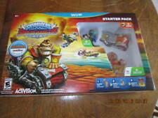 Skylanders SuperChargers Starter Pack - Nintendo Wii U  Donkey Kong   NEW!!