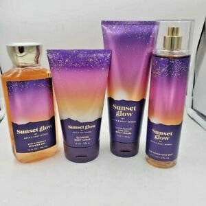 Bath & Body Works Sunset Glow Collection