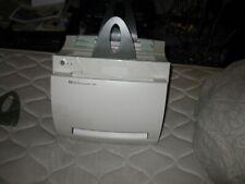HP LaserJet 1100 printer /with some damage but prints fine