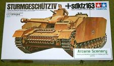 Tamiya STURMGESCHUTZ IV SdKfz 163 1/35 Scale 35087 Kit 35087