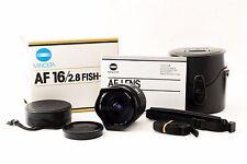*Excellent+++!!* Minolta AF FISH-EYE 16mm F/2.8 Lens for Sony Minolta AF Mount