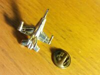 Vintage McDonnell Douglas Fighter Jet Lapel Pin Military AirPlane 🇺🇸 USAF U.S.